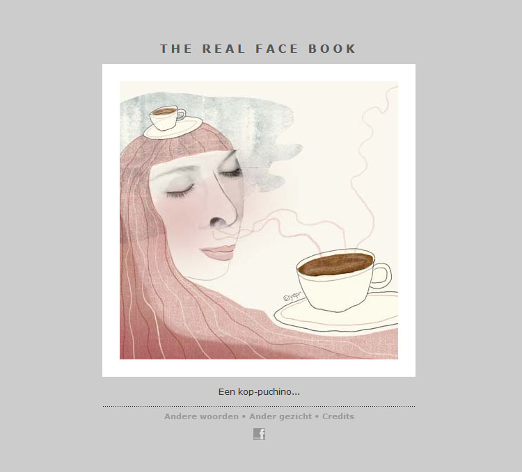 THE REAL FACE BOOK 1