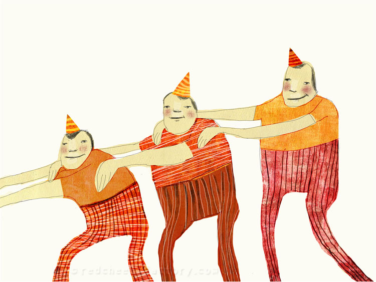 Join The Parade Illustration Nelleke Verhoeff
