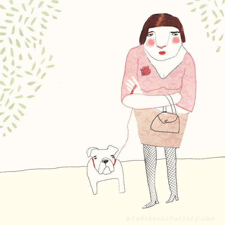 Blind Date Magda Illustration Nelleke Verhoeff