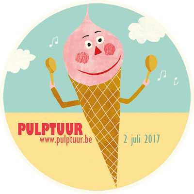 Pulptuur Sticker 2017