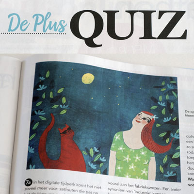 Illustration for Plus Magazine Zomer 2016