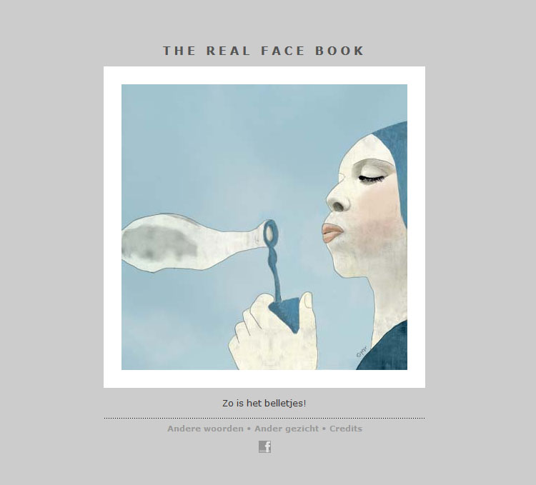 THE REAL FACE BOOK 4